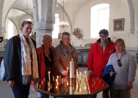 Euro-camp med Malteserhjälpen till Estland