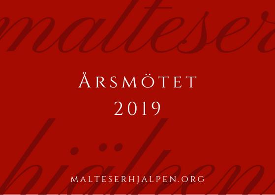 Årsmötet 2019 | Malteserhjälpen